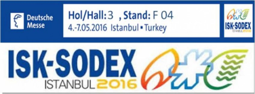 ISK-SODEX 2016 İSTANBUL ONLINE DAVETİYE