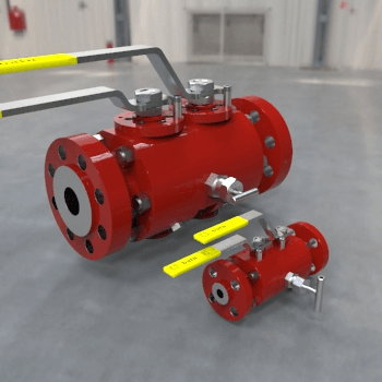 Double Block and Bleed (DBB ) Ball Valve