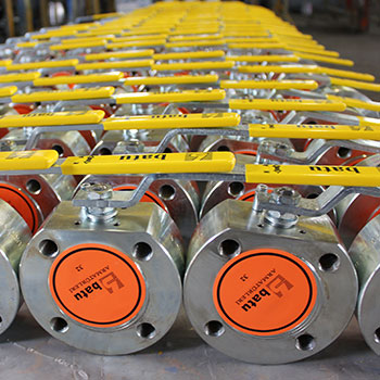 Burak type Mono-block Ball-Valves