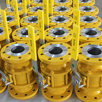 Natural Gas Ball Valves